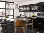 Avant Black Kitchen Design