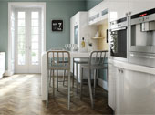 Avant White Kitchen Design