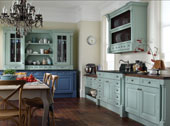 Cornell Painted Kitchen Design - Shown in China Blue and Cornflower