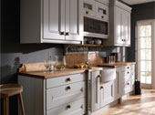 Eden Painted  Kitchen Design - Shown in Partrige Grey