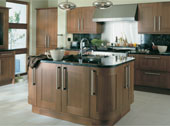 Estro Walnut Kitchen Design