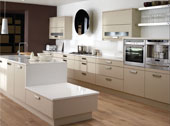 Fresco Beige Kitchen Design