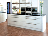 Fresco White Kitchen Design