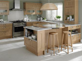 Seton Oak Kitchen Design